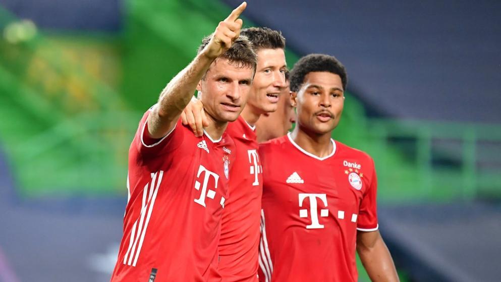 图片报:拜仁在决赛场地6场3胜,上周刚8-2巴萨