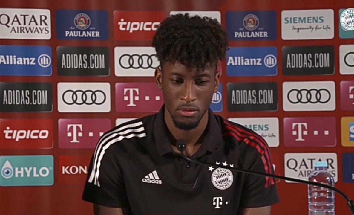 科曼:戴维斯速度比姆巴佩更快,决赛我百分百向着拜仁