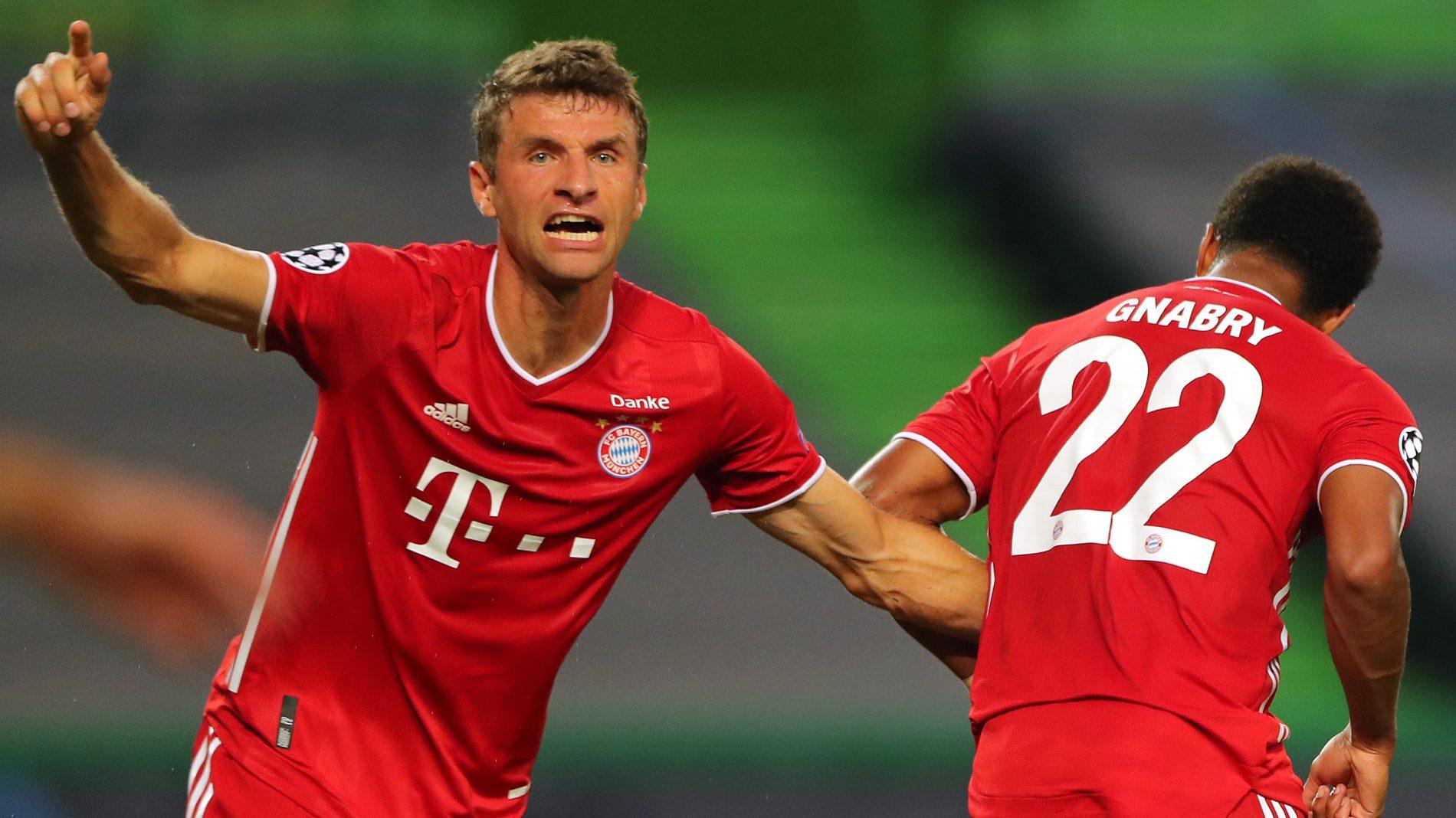 德媒:穆勒是仅有参加了拜仁以前11年4场欧冠决赛的球员