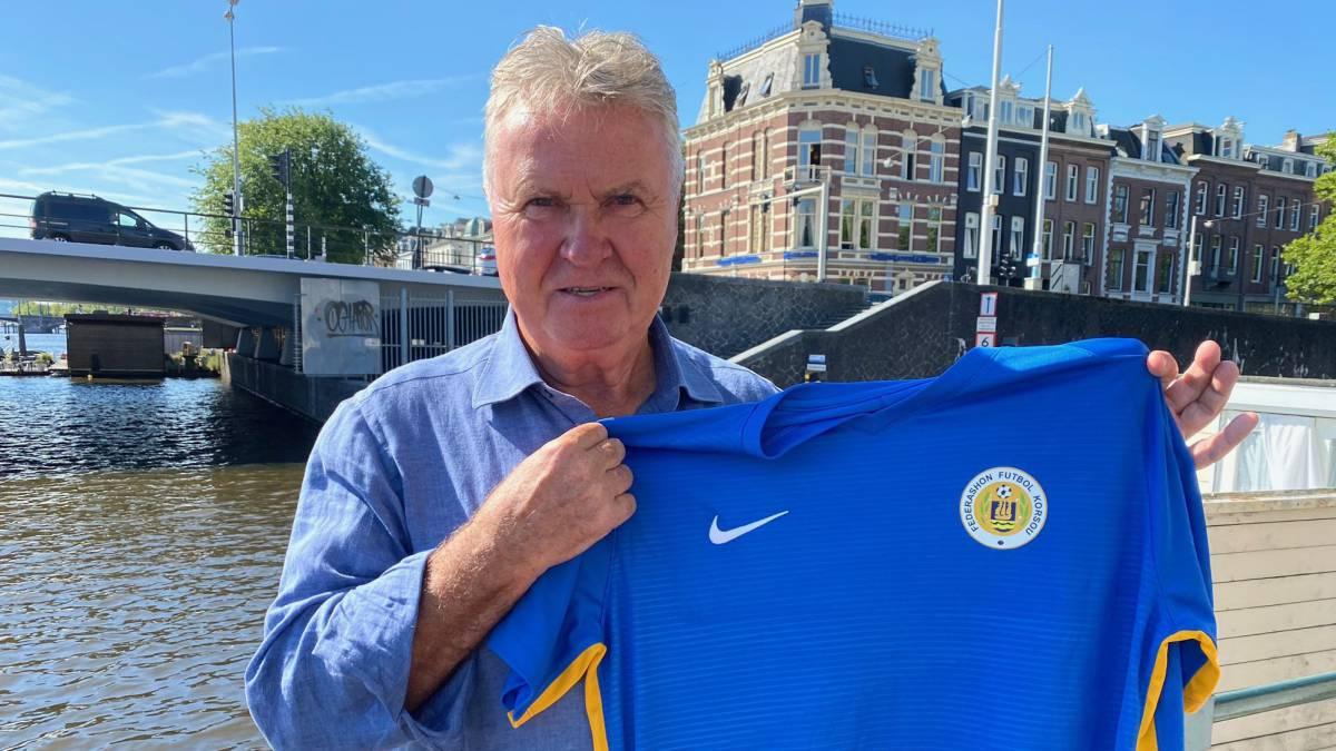 官方:荷兰老帅希丁克成为库拉索国家队主教练