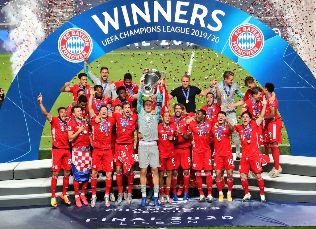 比拜仁还多一冠!奥德里奥索拉获得赛季四冠王