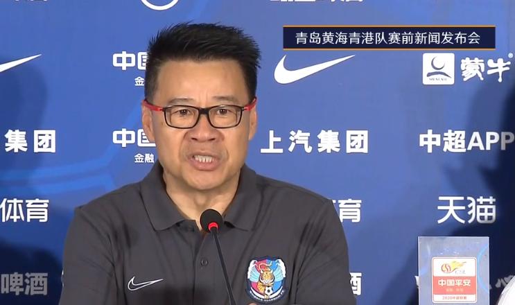 吴金贵:王栋旧伤复发,已返回青岛进行更好的治疗