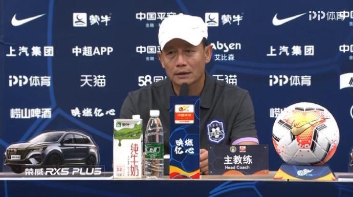 王宝山:意外的点球和角球造成失分,我们有信心往上爬