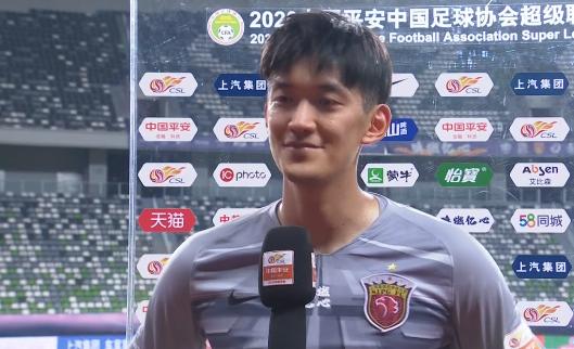 颜骏凌:于睿踢得非常好,希望下面7轮球队能保持势头