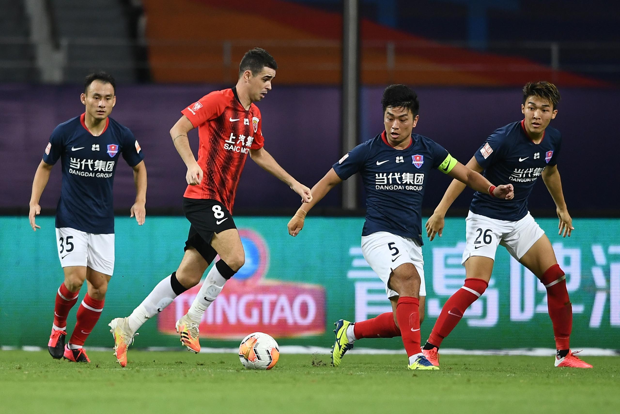 王燊超传射阿瑙奥斯卡建功,上港3-0重庆