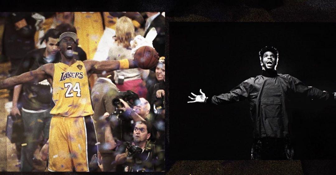 肯尼-史密斯晒博斯曼与科比相同姿势照片:超级英雄精神
