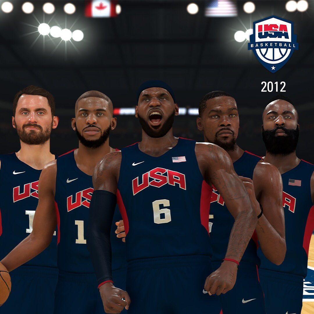 NBA2K21将新增伦敦奥运会梦之队和里约奥运会梦之队