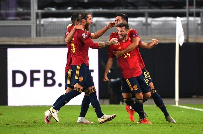 GIF:罗德里戈助攻加亚破门,西班牙最后时刻扳平比分