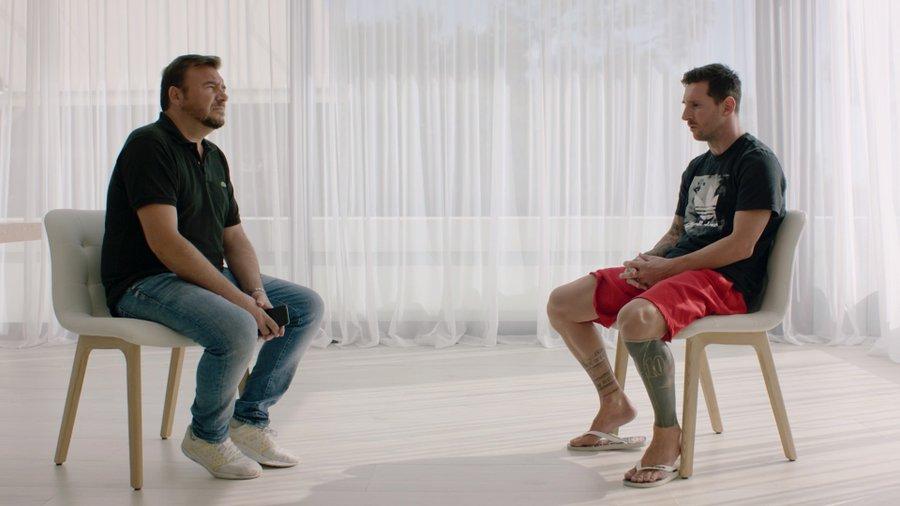 梅西声明:下个赛季我将留在巴萨,因为不希望对簿公堂