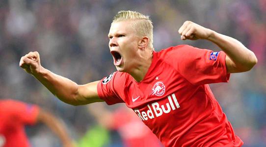 挪威主帅:哈兰德有潜力成为顶级球员,比肩梅西和C罗