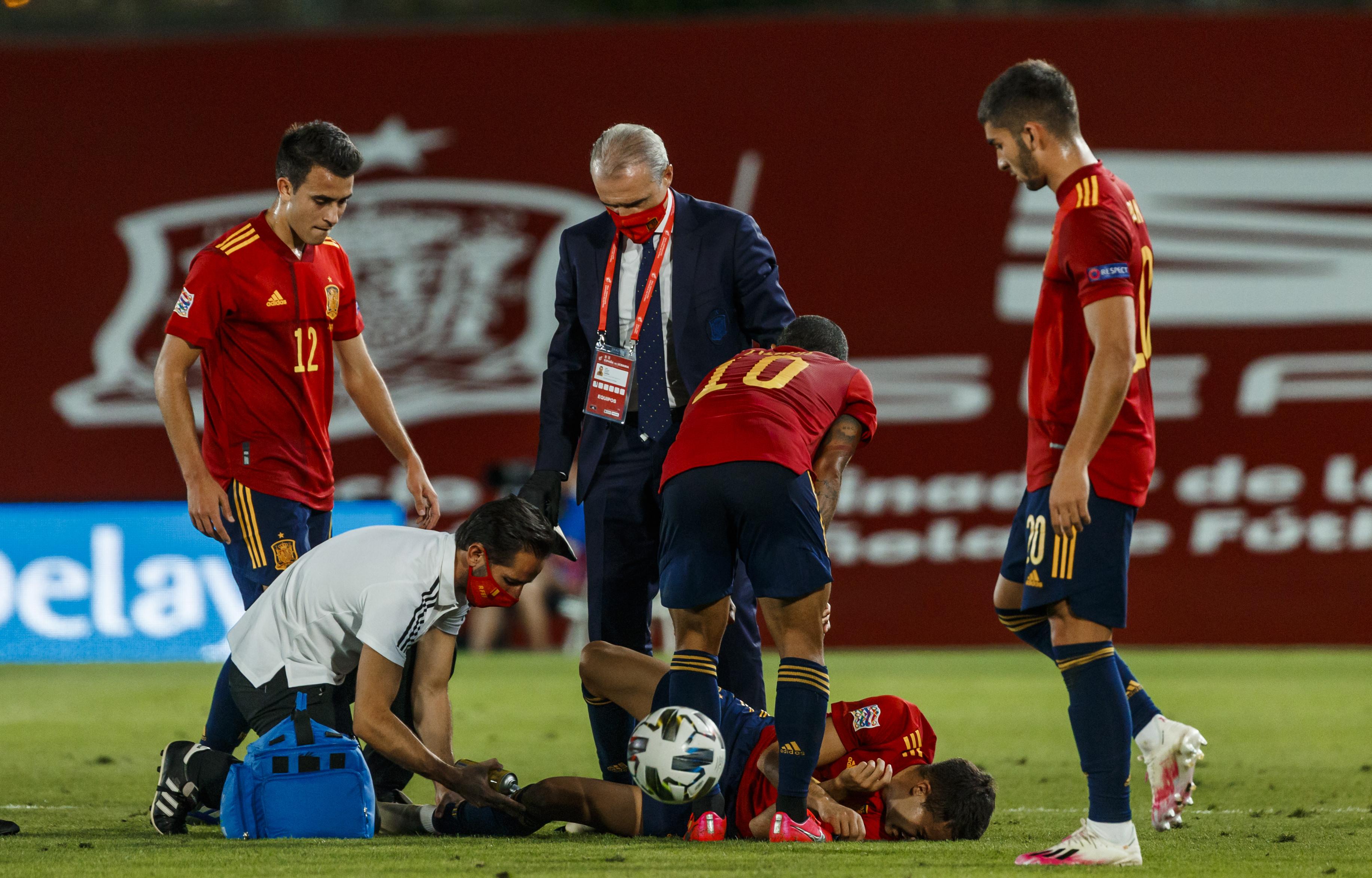 官方:雷吉隆脚踝扭伤,皇马医疗部门已得到消息