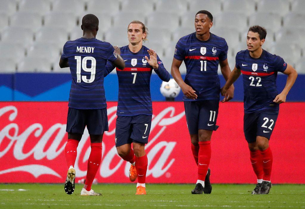 欧国联:格列兹曼吉鲁破门乌帕建功,法国4-2克罗地亚