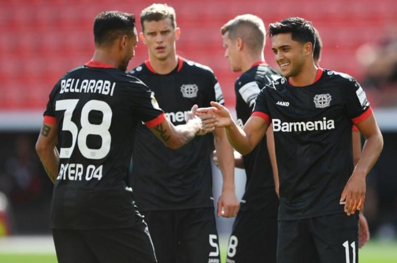 勒沃库森德国杯31分钟打进6球,近12年来的最快纪录