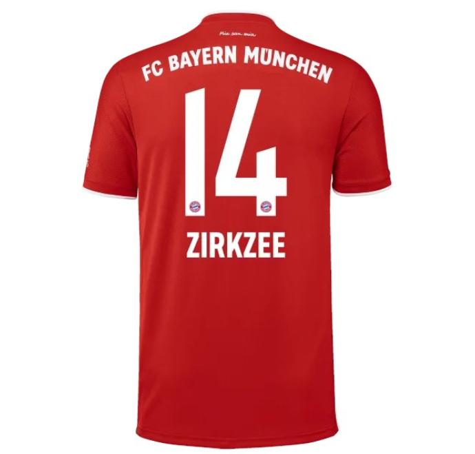 拜仁官方公布新赛季球衣号:努贝尔35,齐尔克泽改穿14 第1张