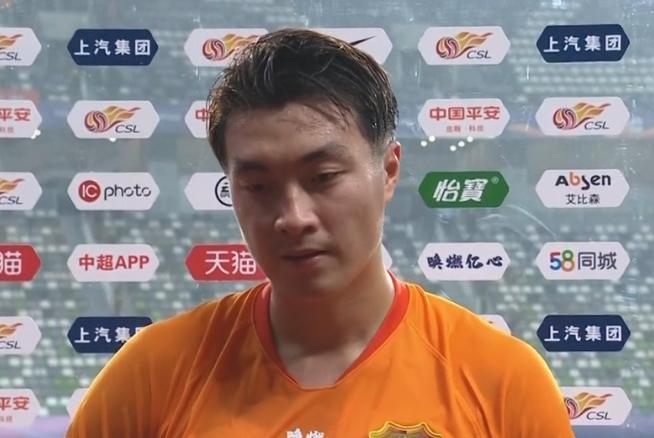 廖均健:上港是强队我们尽力了,争4每场都是决战 第1张