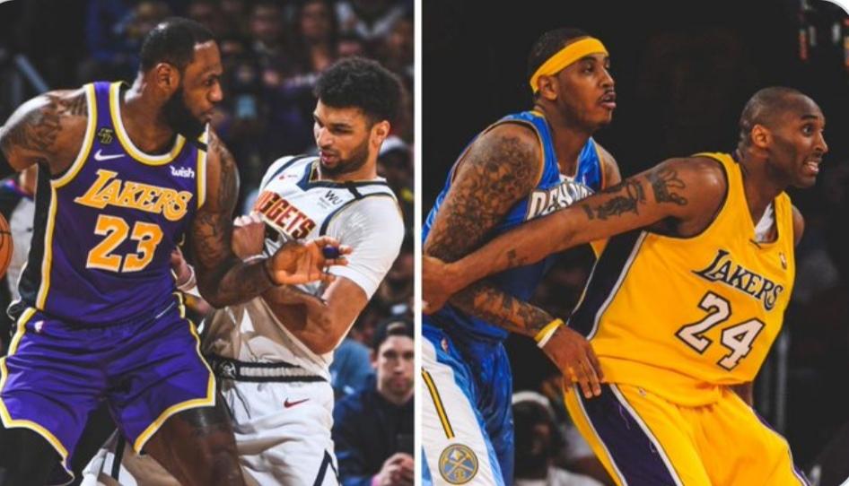 NBA下注网掘金过去两次西决都输给了湖人,后者最终都夺冠了_NBA下注网NBA新闻