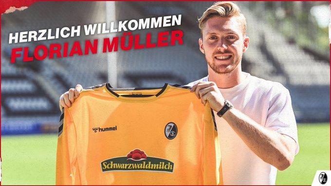 弗赖堡官方:美因茨门将弗洛里安-穆勒租借加盟球队 第1张
