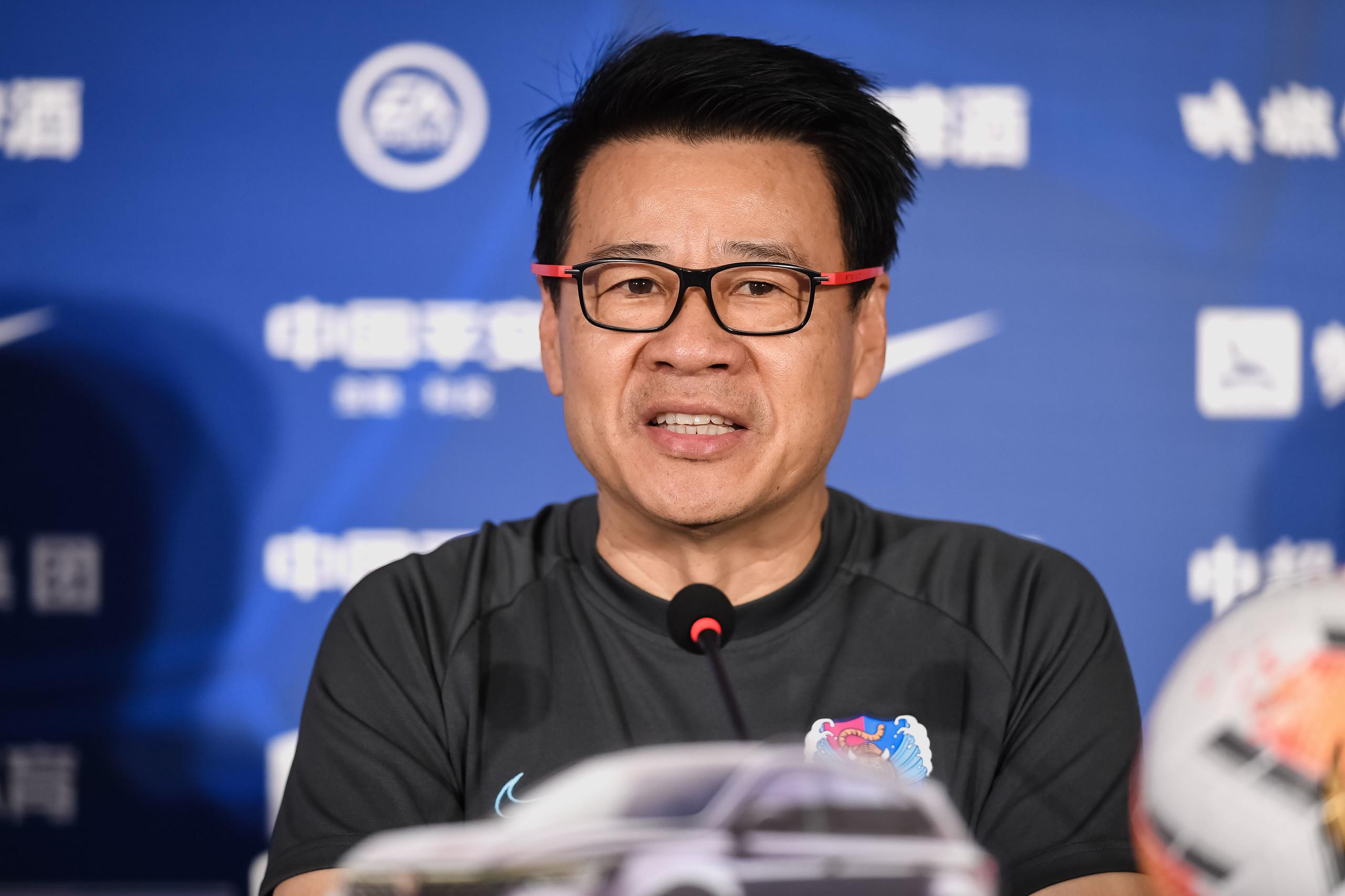 吴金贵:希望保住目前排名,新援到来让泰达实力增强