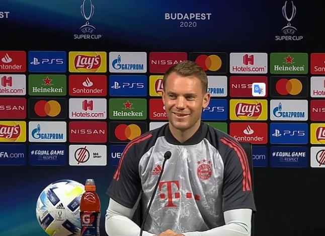 诺伊尔:很高兴被提名为欧足联最佳球员,格策能立足拜仁
