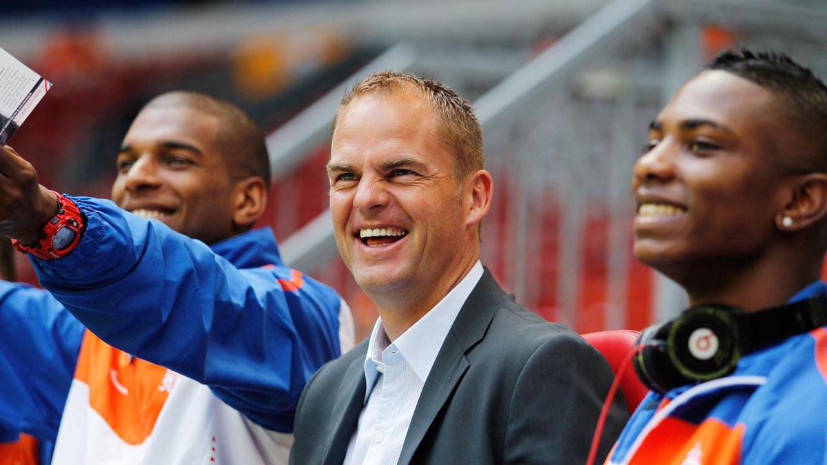 官方:F-德波尔担任荷兰队新主帅,带队至22年世界杯