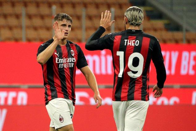 欧联资格赛:恰尔汗奥卢2射1传,AC米兰3-2晋级附加赛