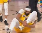 戴维斯左脚踝受伤,但会继续坚持比赛