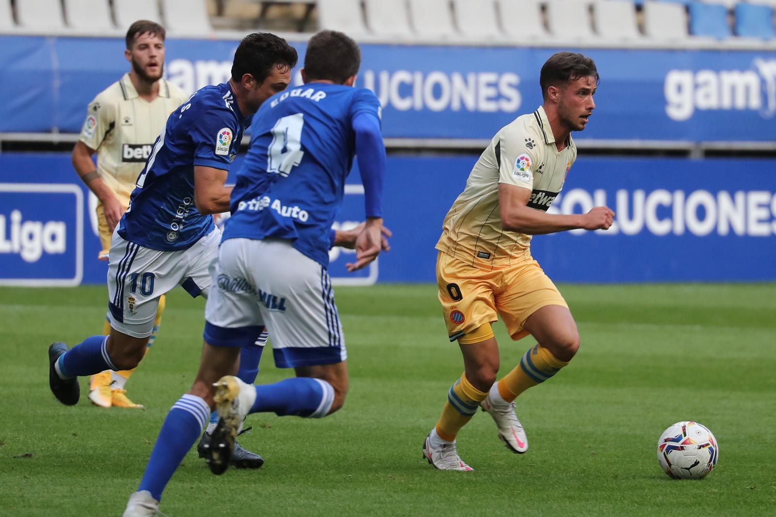 德托马斯梅开二度武磊中框,西班牙人2-0奥维耶多