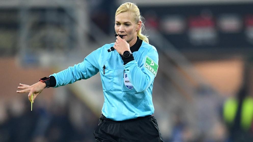 官方:比比安娜执法德超杯,成史上第一位德超亚搏体育app网页杯女主裁
