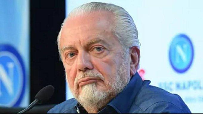 官方:那不勒斯主席德劳伦蒂斯恢复健康,新冠检测阴性