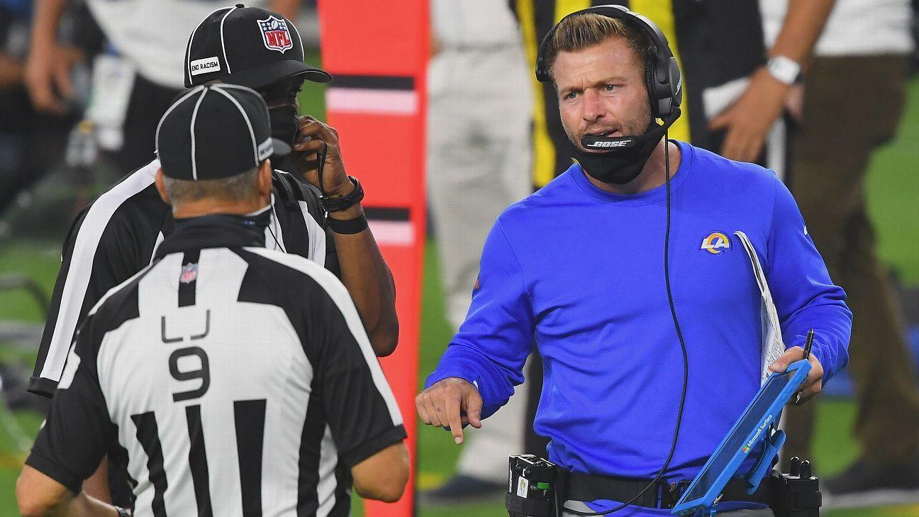 NFL或对不佩戴口罩教练实施更严厉处罚