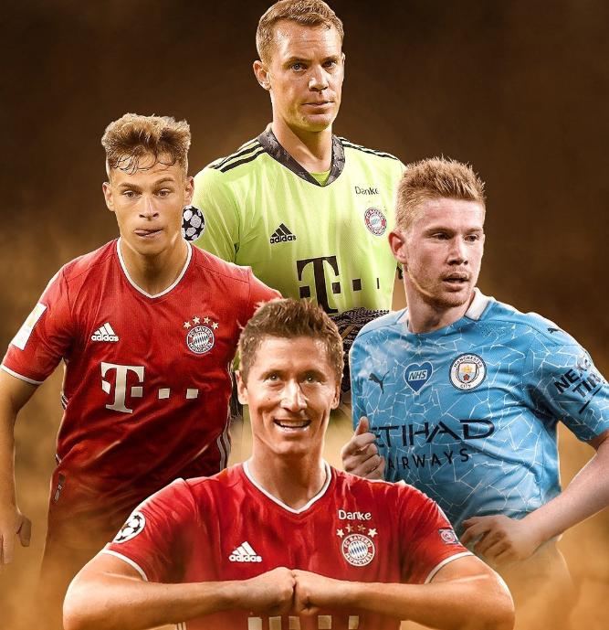 最大赢家!拜仁3人组包揽19/20赛季欧冠最佳门将后卫和前锋