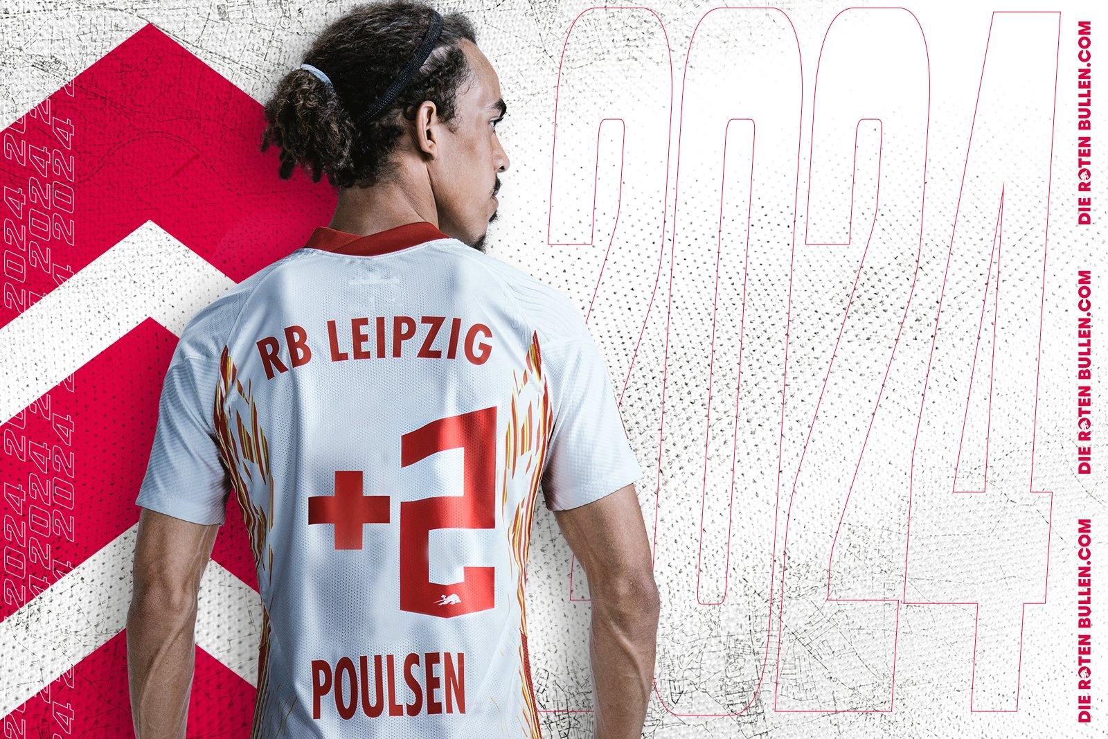 莱比锡官方:丹麦前锋波尔森和球队续约至2024年