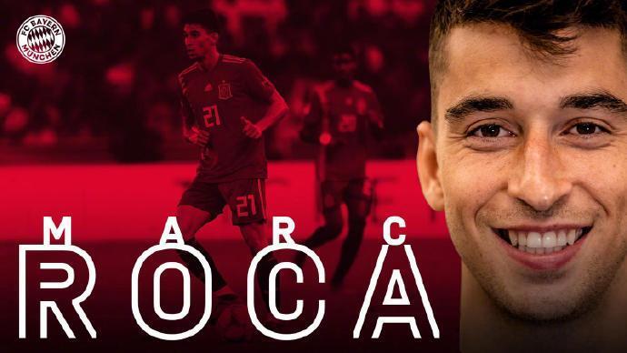 官方:西班牙人中场罗卡加盟拜仁,签约至2025年