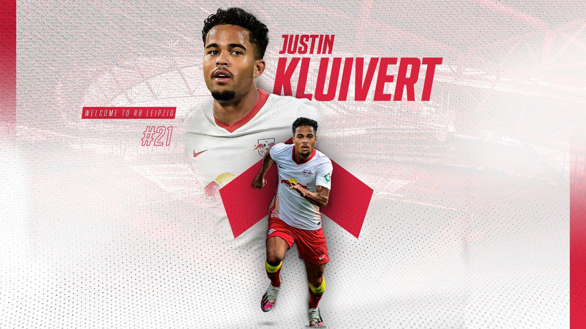 官方:莱比锡以2000万买断条款签下Kluivert贷款