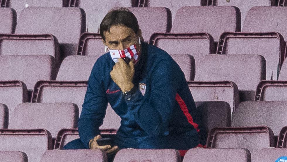 洛佩特吉:对球队的表现感到满意,塞维利亚有机会JBO电竞赢球