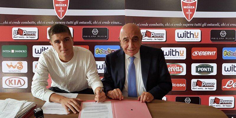 官方:国际米兰18岁后卫皮罗拉租借加盟意乙球队蒙扎