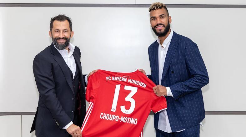 官方:拜仁签下舒波-莫廷,合同期至明年6月30日