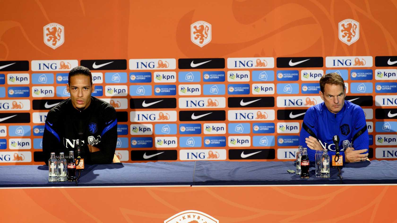 范戴克:荷兰球员没提交过选帅名单,只是问了我们的意见