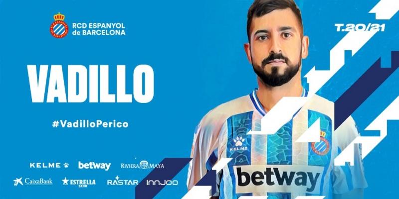 官方:西班牙人租借塞尔塔边锋巴迪略一年,有买断条款