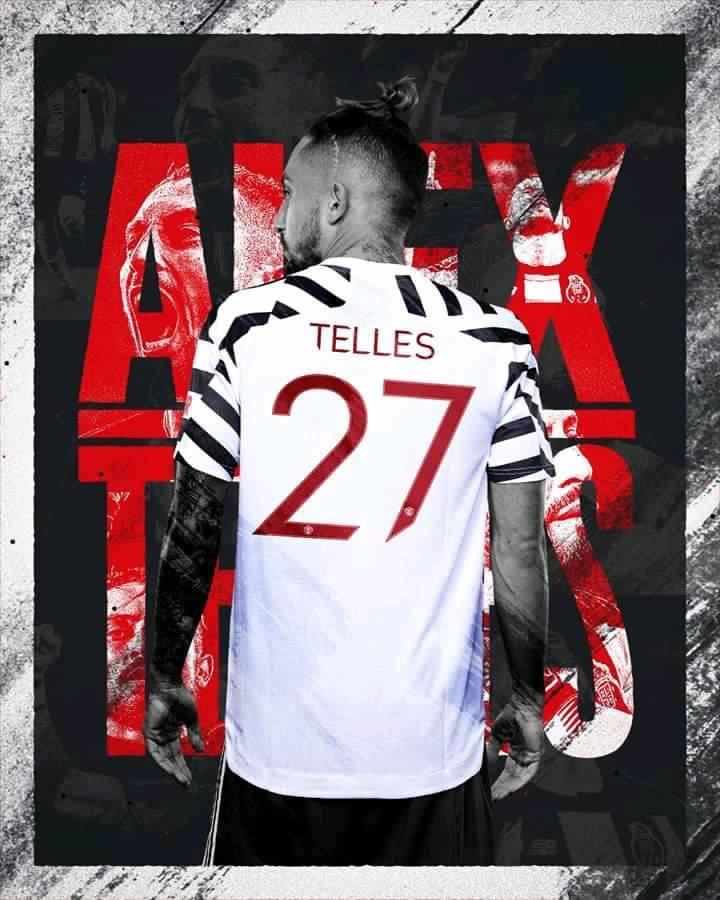曼联官方:特莱斯将身披27号球衣,佩利斯特里28号