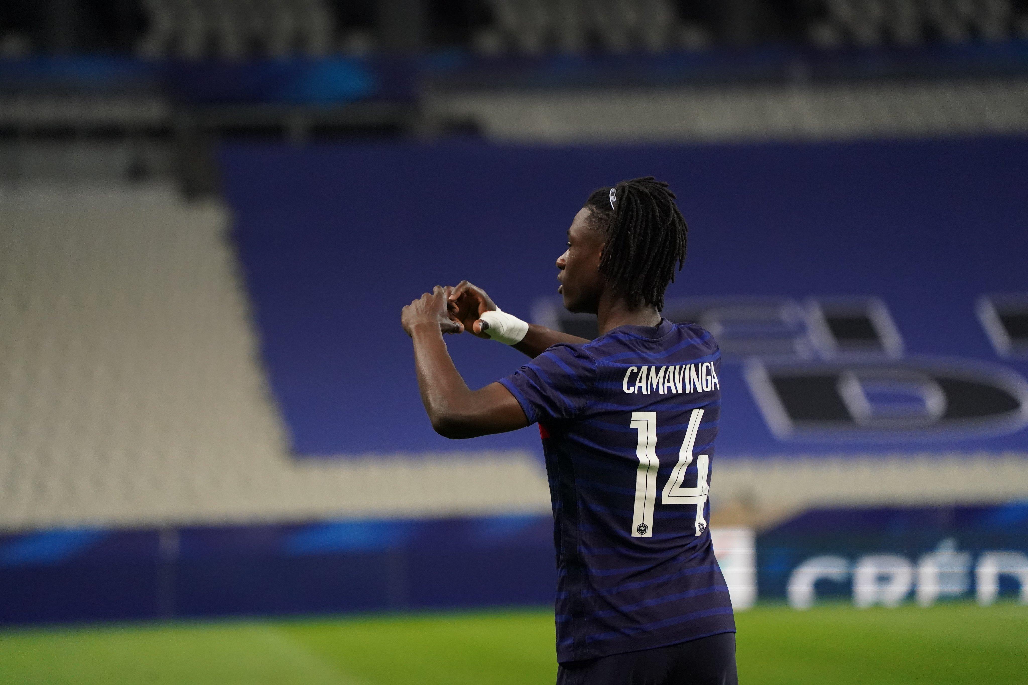 卡马文加成战后法国队最年轻进球者,姆巴佩本泽马top10