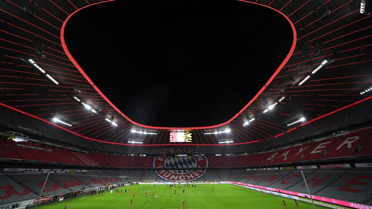 图片报:拜仁主场至少空场至10月25日,对马竞欧冠无观众