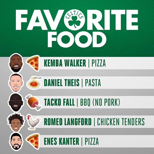 凯尔特人官方INS:你想和哪位球员共进午餐?