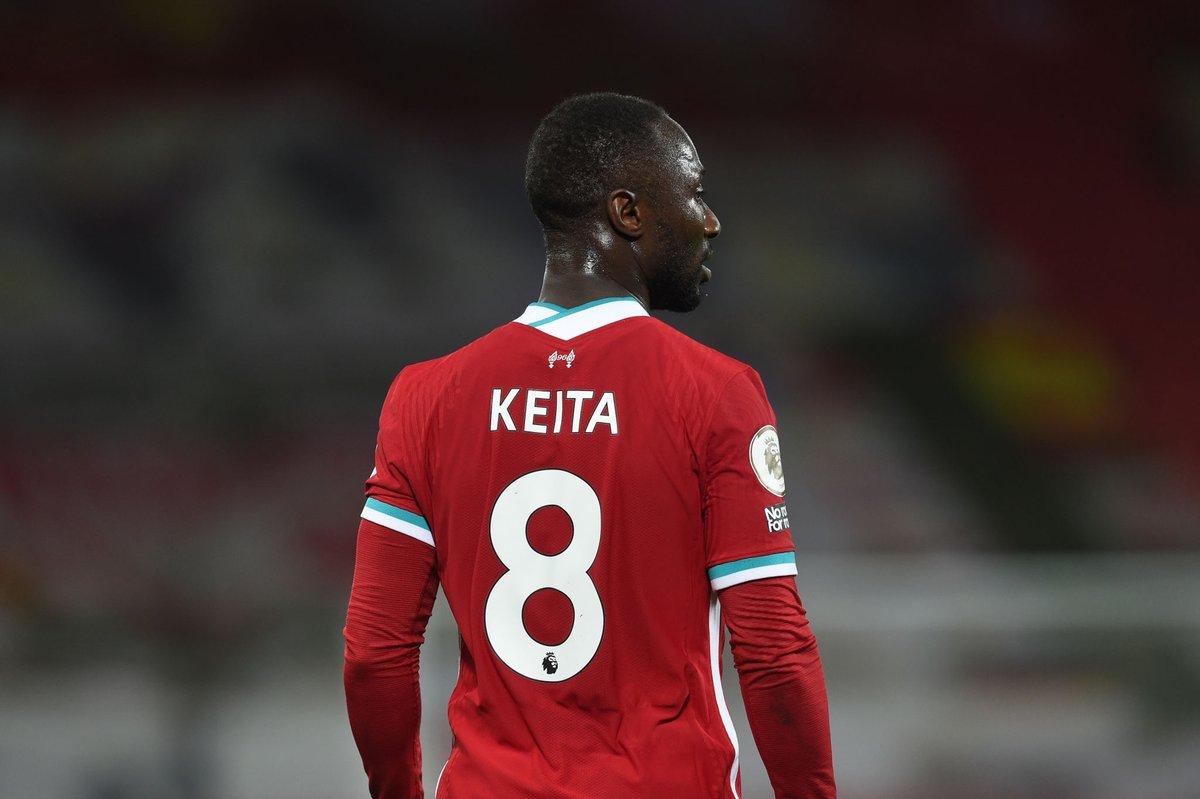 几内亚媒体:凯塔和4名几内亚球员都被确诊为新冠阳性