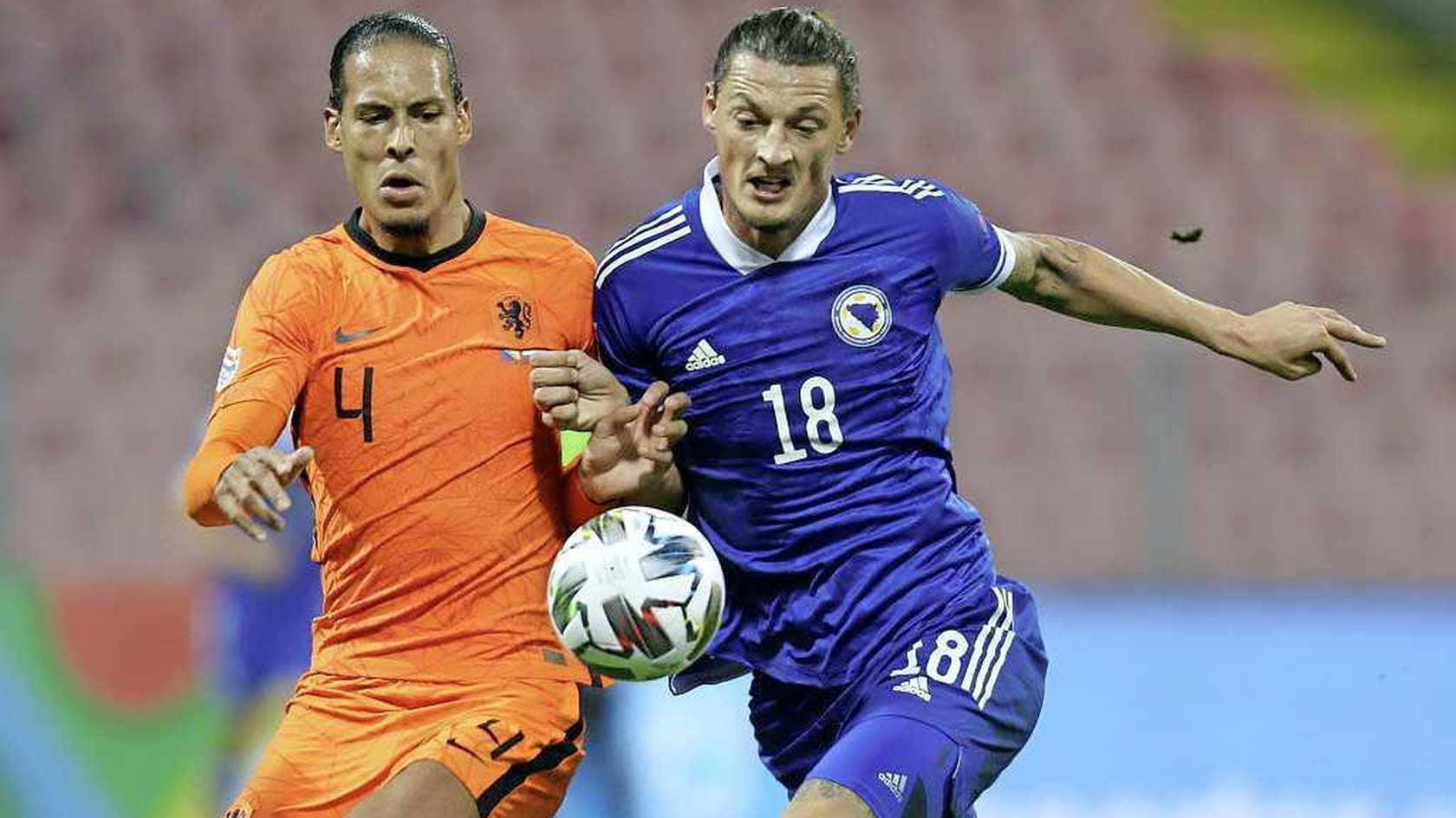 范戴克:荷兰并没什么好机会,我们真得加油了