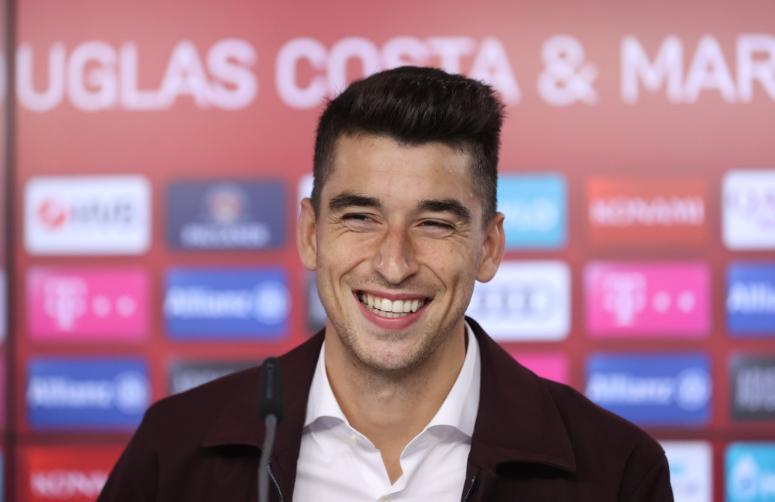 罗卡:拜仁8-2巴萨的比赛让我非常开心,偶像是阿隆索