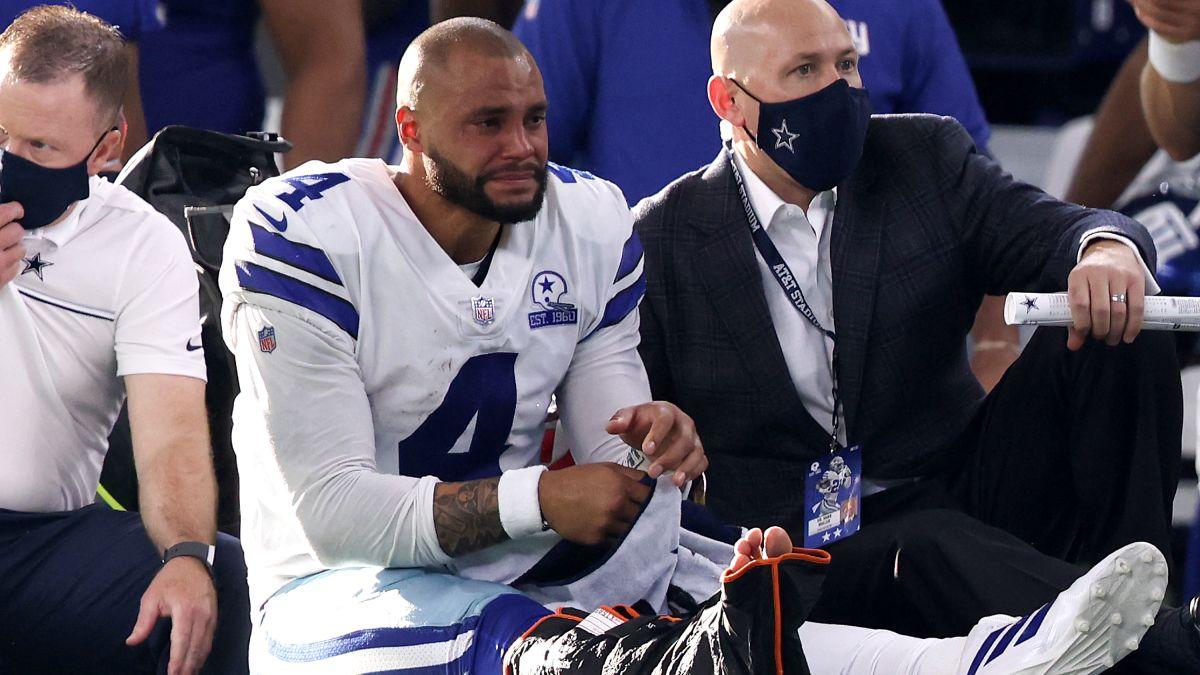 麦科勒姆发推,为脚踝受伤的NFL四分卫普雷斯科特祈福