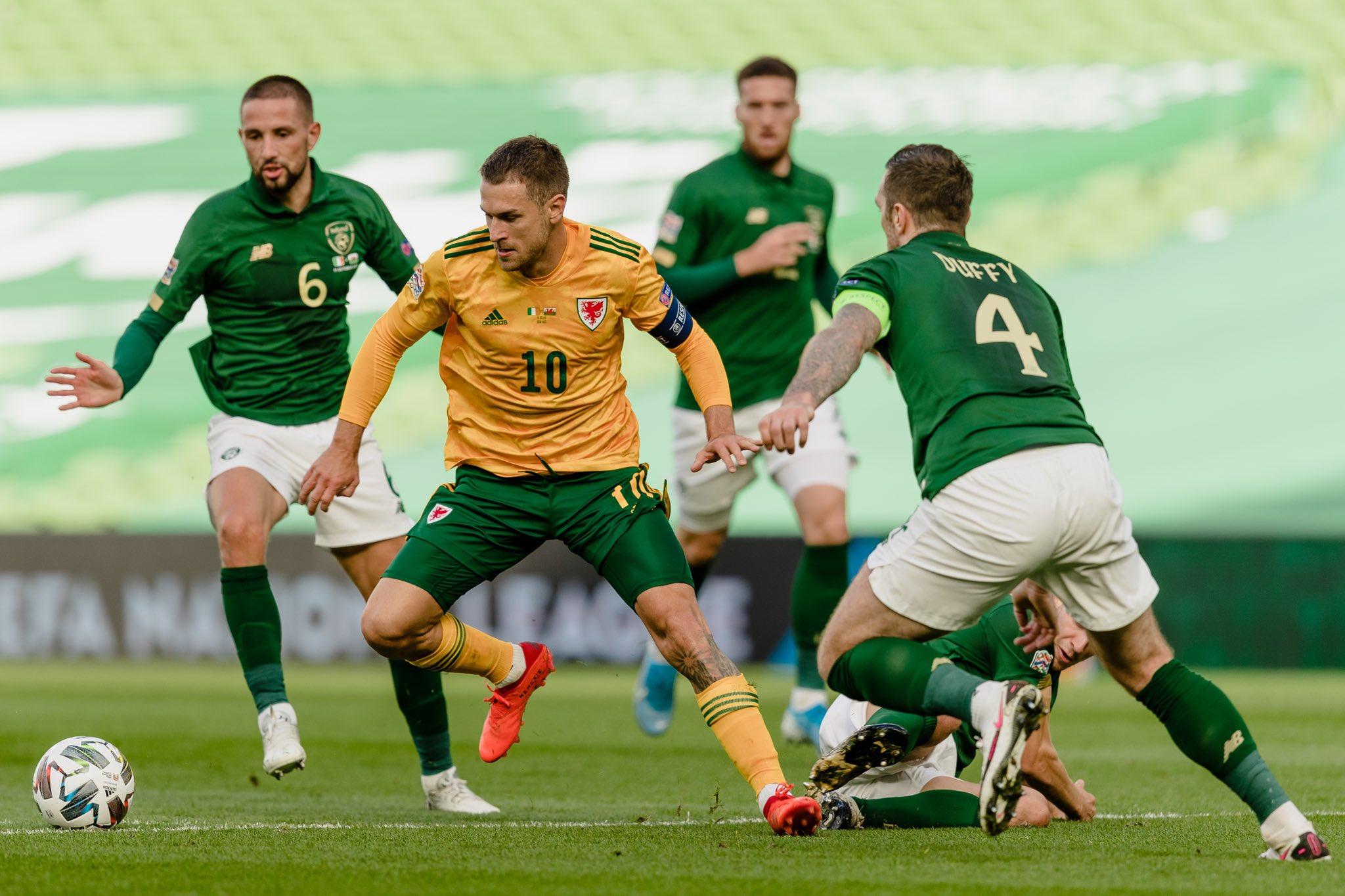 威尔士官方:拉姆塞伤退,不会参加对阵保加利亚的比赛
