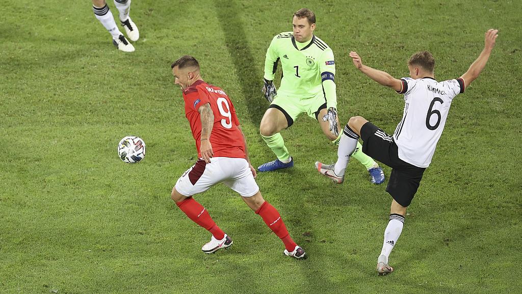 欧国联:哈弗茨维尔纳传射建功,德国3-3瑞士