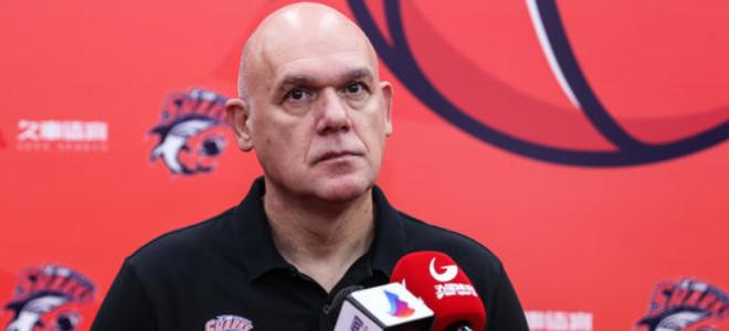 上海主帅内文-斯帕夏谈新赛季现在的:带领球队重返季后赛